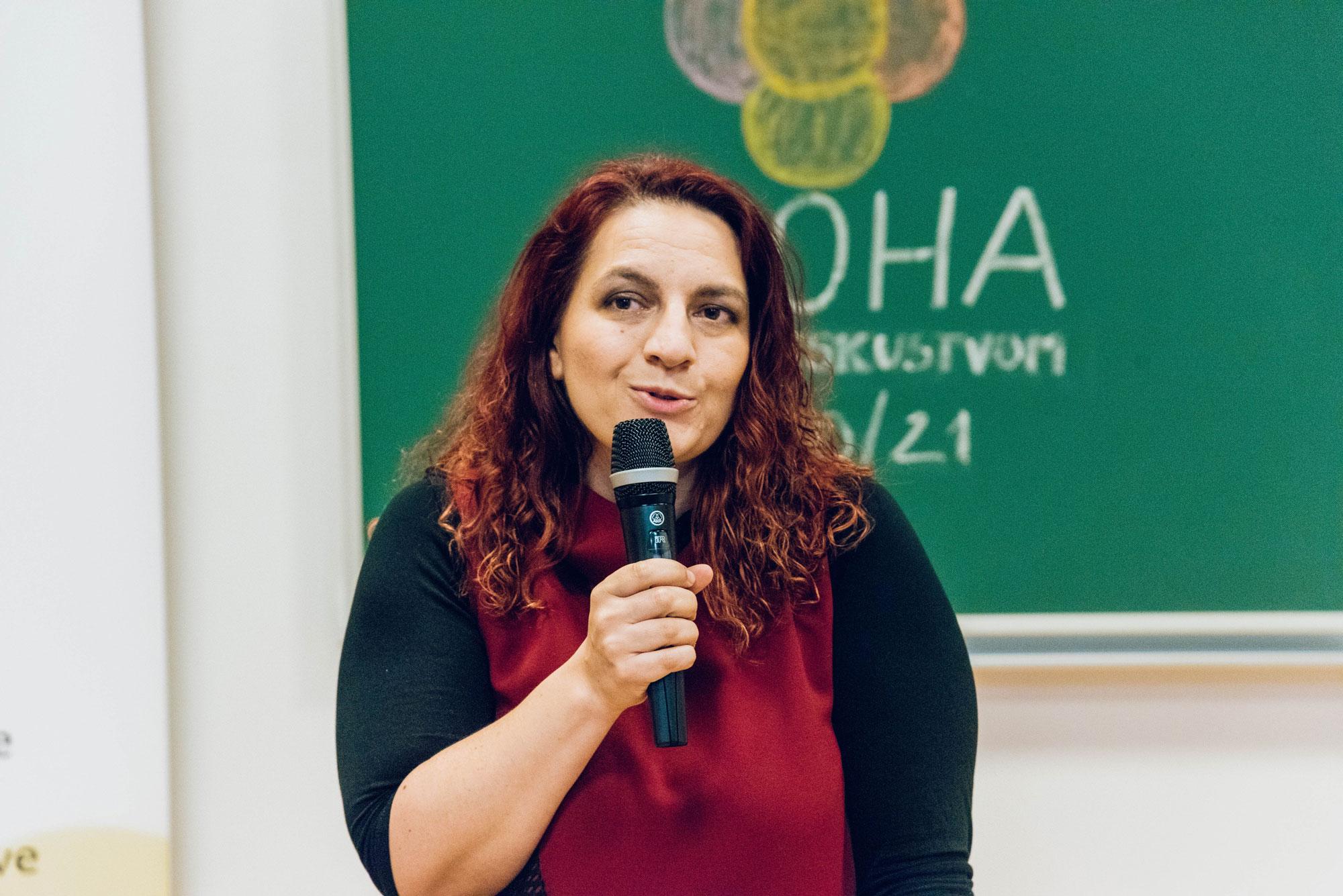 Jelena Acman, pedagoška voditeljica EPOHE