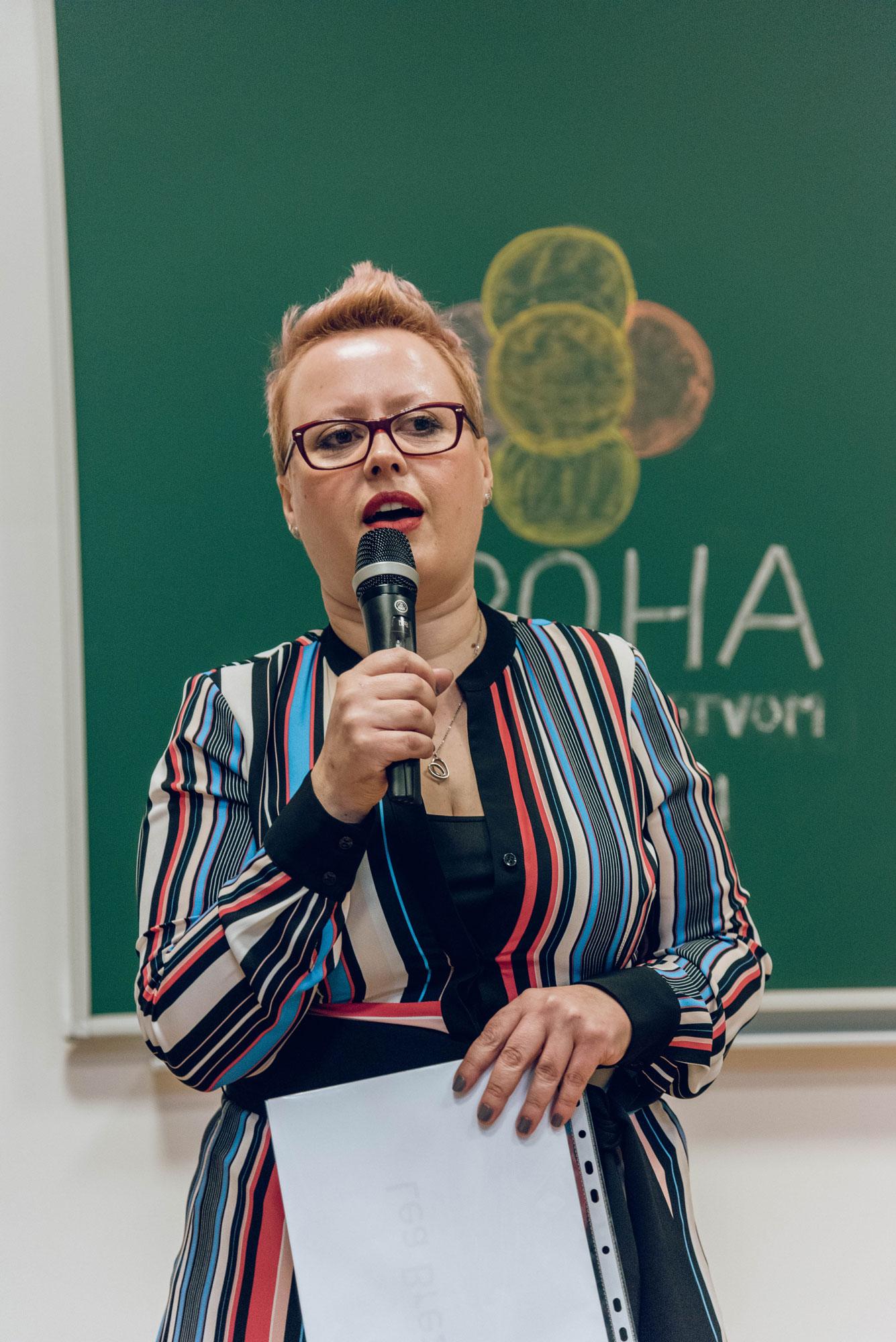 Lea Brezar, osnivačica EPOHE