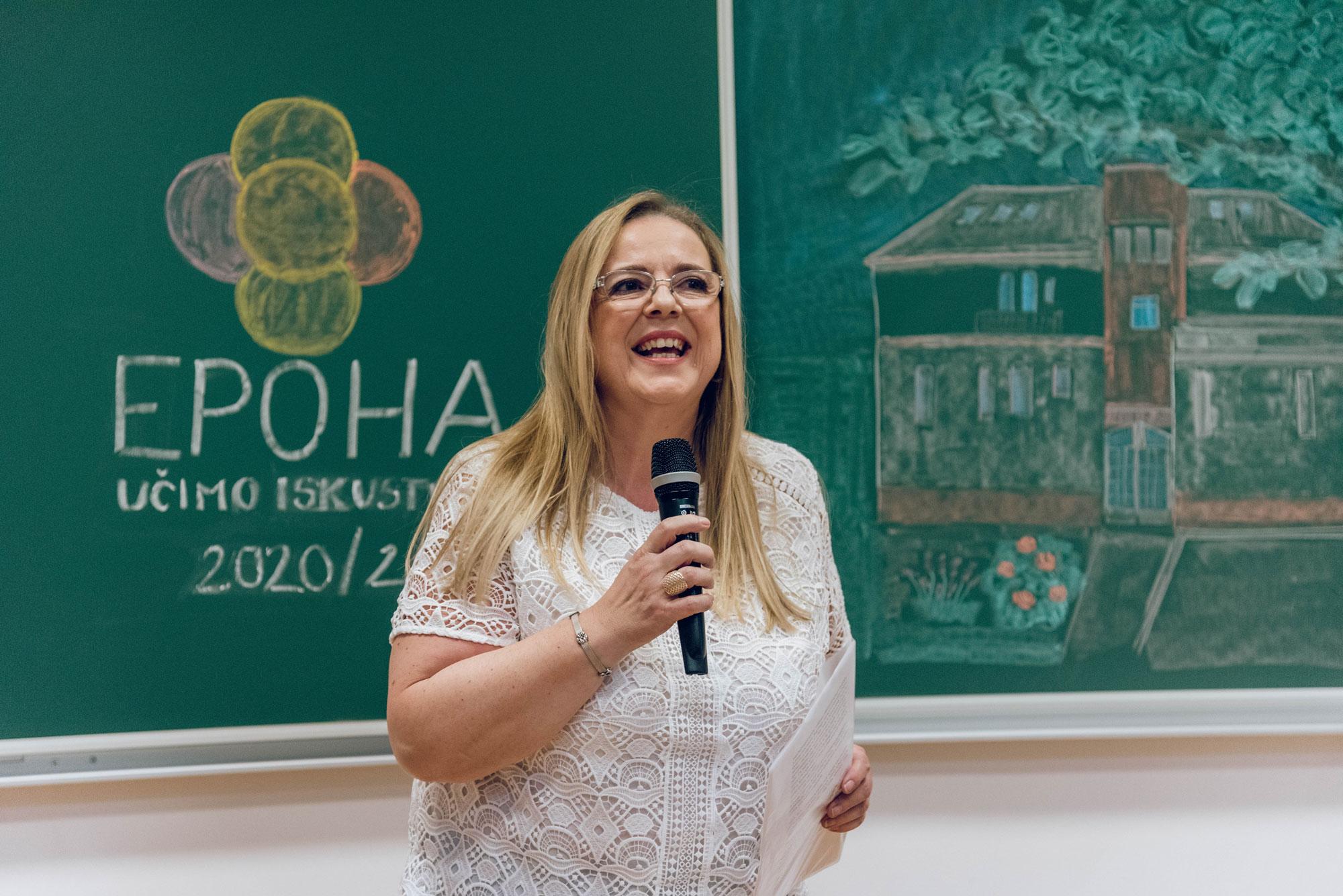 Renata Brekalo, ravnataljica i osnivačica EPOHE